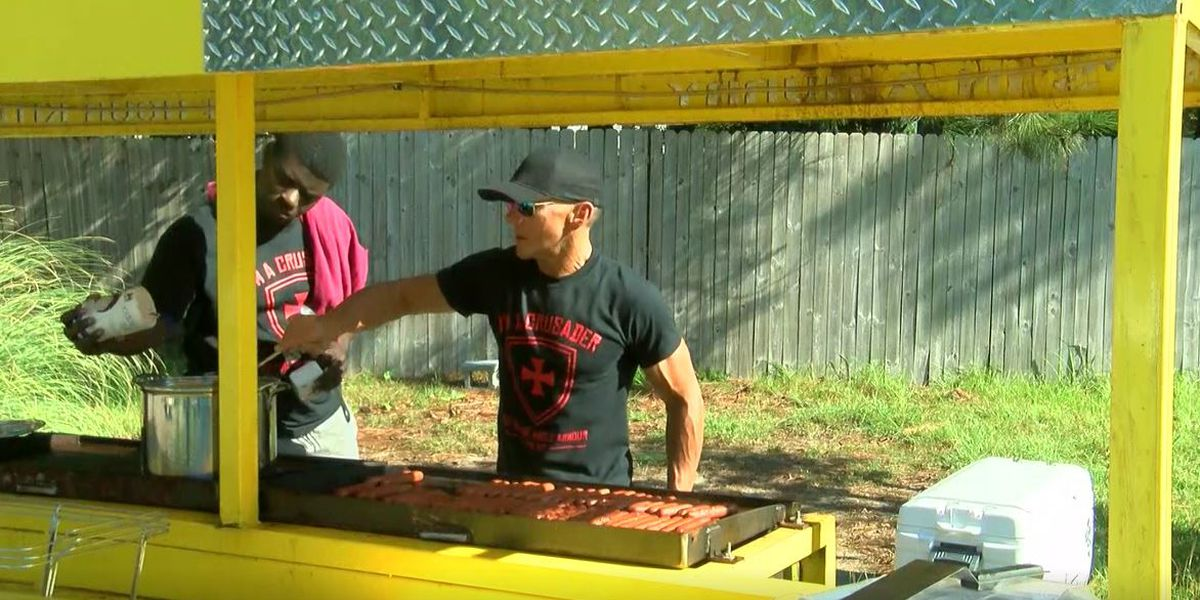 Hunger Crusaders serving up hope for Florence flood victims