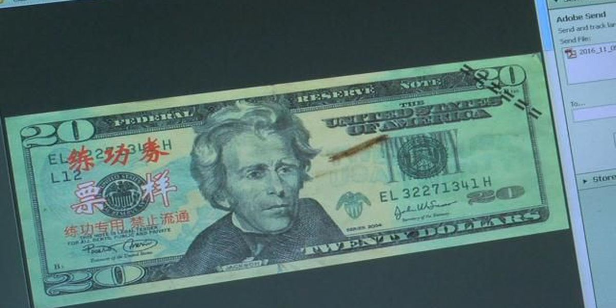 Counterfeit money making its way through Grand Strand businesses