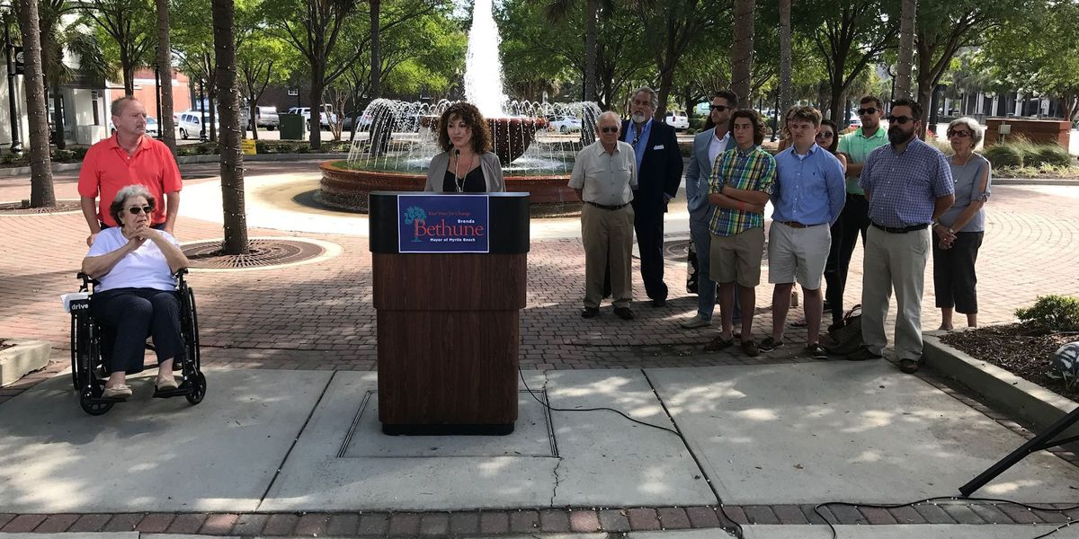 Businesswoman Bethune announces intention to run for Myrtle Beach mayor