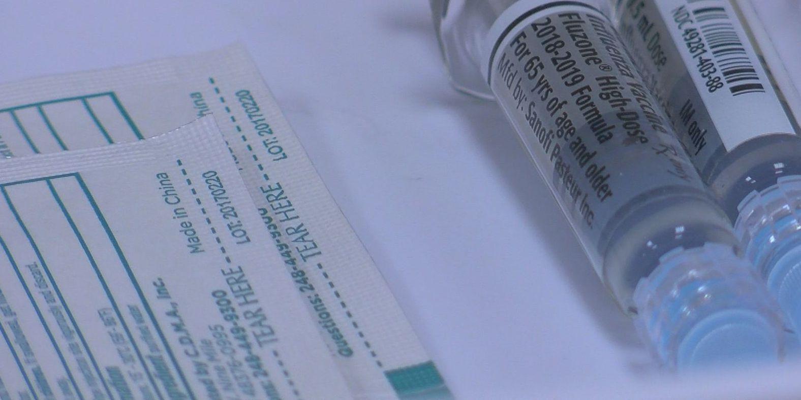 Health officials urge people to get vaccinated ahead of peak flu season