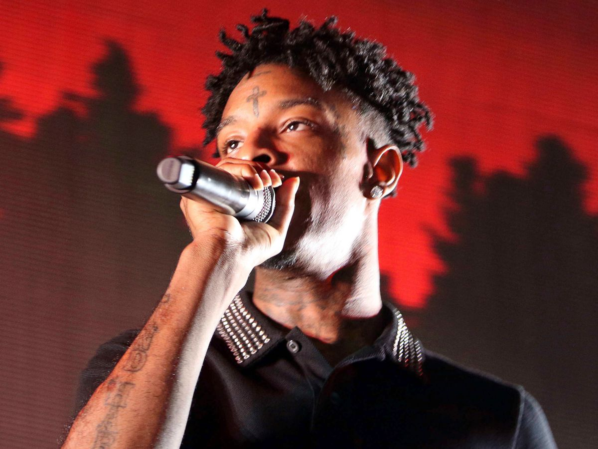 ICE arrests rapper 21 Savage, says he's from the UK