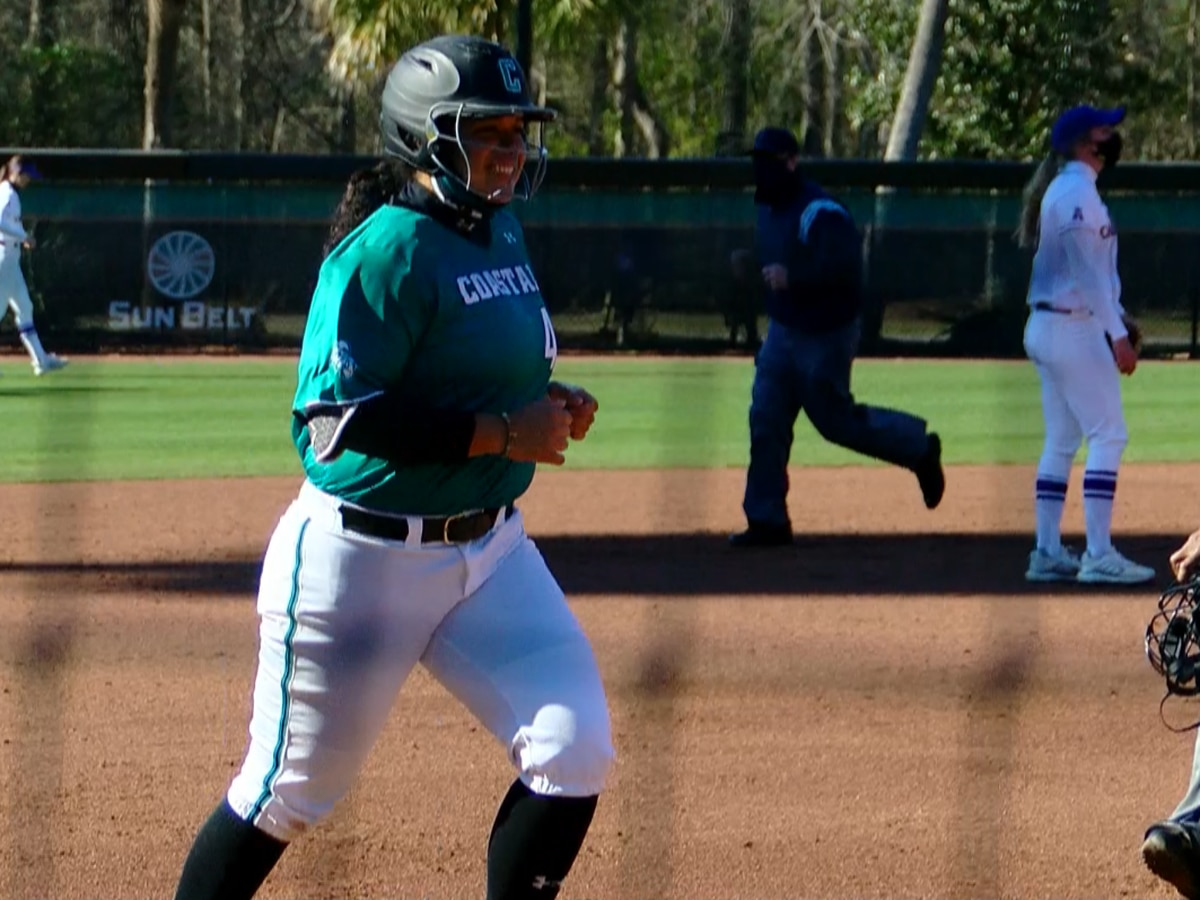Coastal softball splits doubleheader with ECU