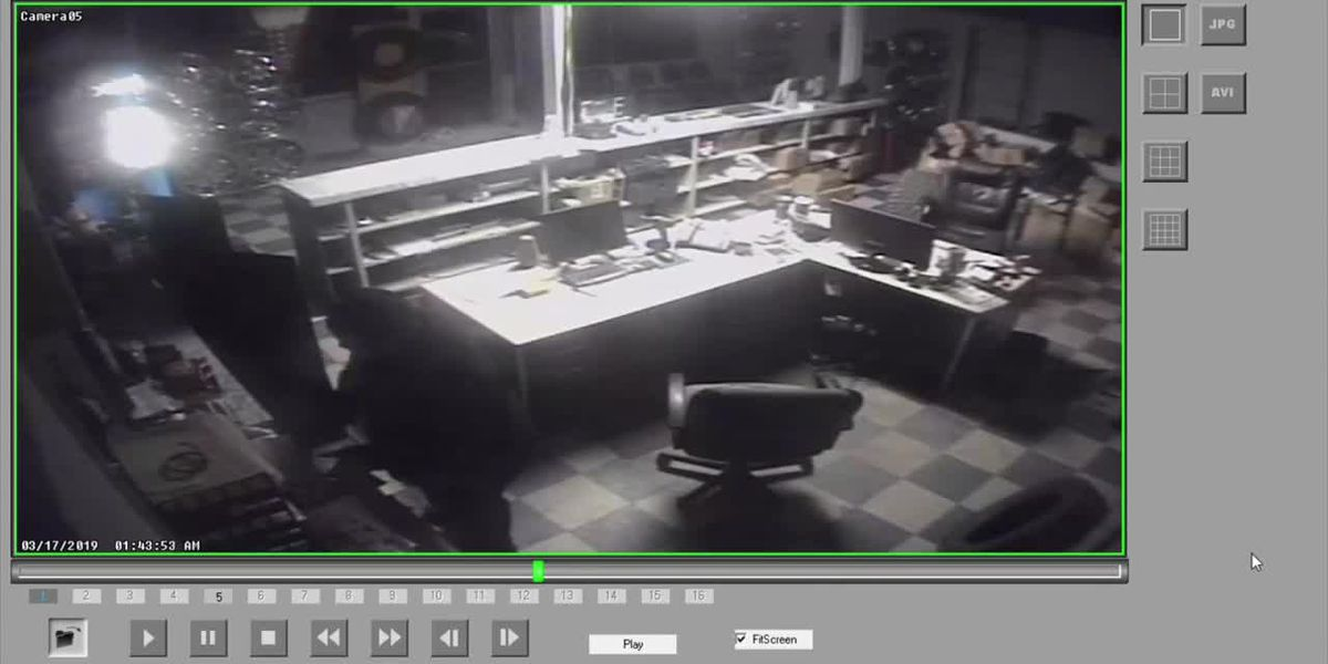 SURVEILLANCE VIDEO: Complete Tire Break-in in Hartsville