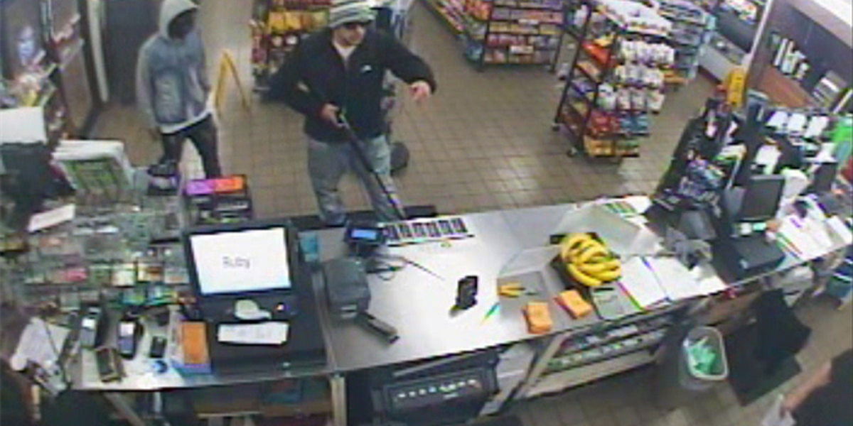 Police seek 2 men who robbed Florence store with shotgun