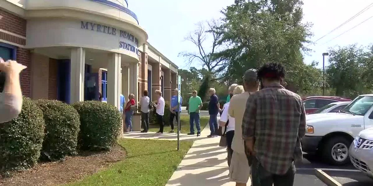 Several Horry County residents report problems at certain polling locations