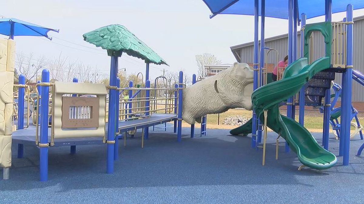 Florence community builds area's first inclusive playground