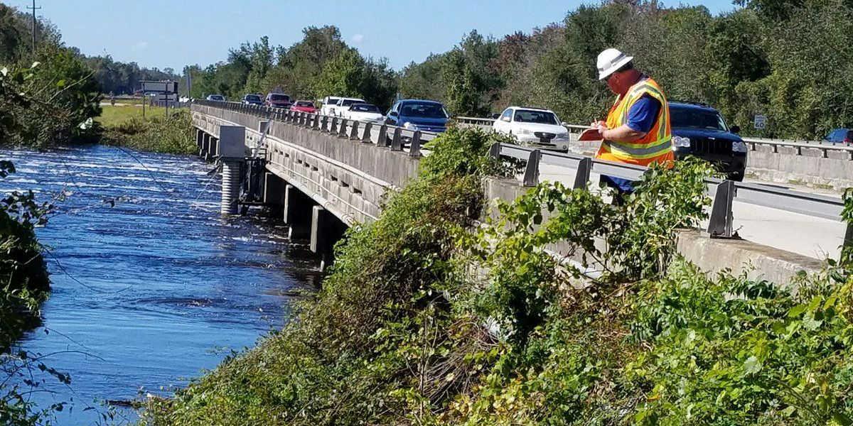 Rising water leads to closure of section of U.S. 501