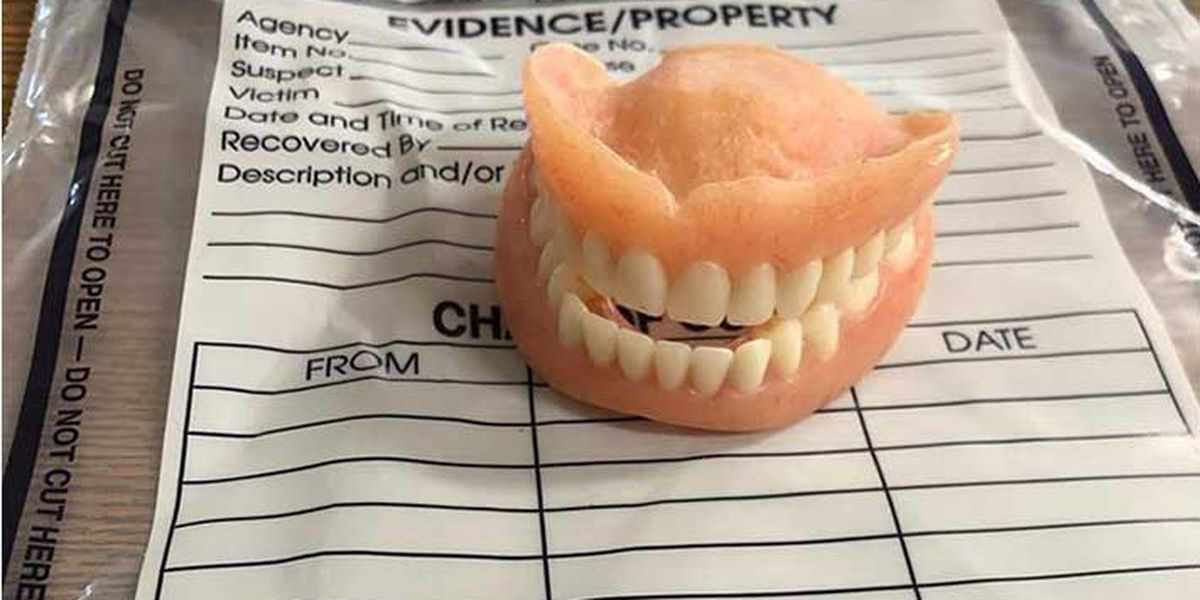 Woman charged with stealing and using another woman's dentures