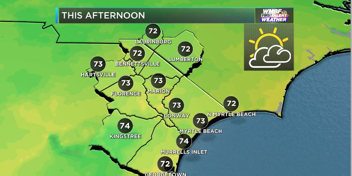 FIRST ALERT: A bit milder Tuesday, wet finish to the week