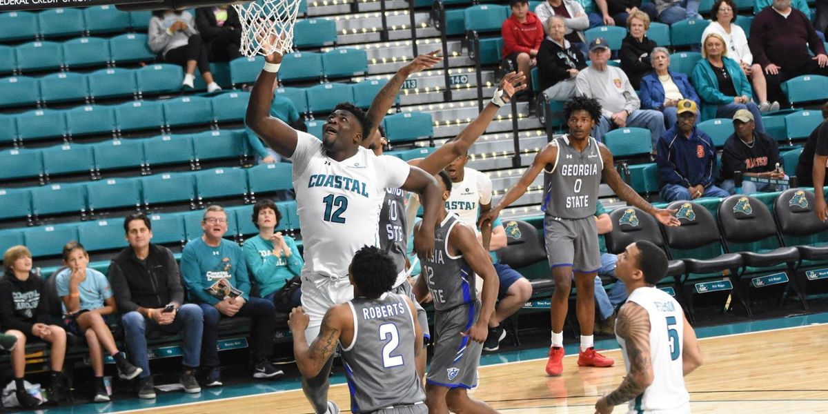 Jones Scores 23 as CCU Rallies Past Georgia State
