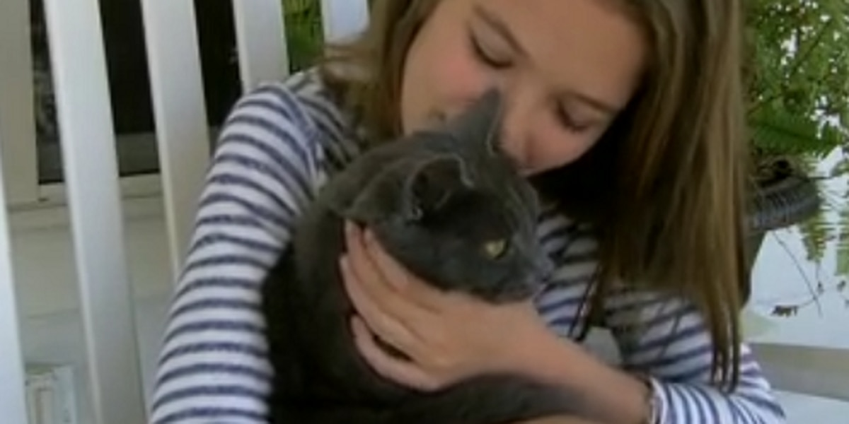 Rescuers save 11-year-old girl's cat following Wednesday's tornado
