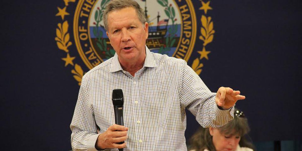 John Kasich visits Myrtle Beach on the campaign trail