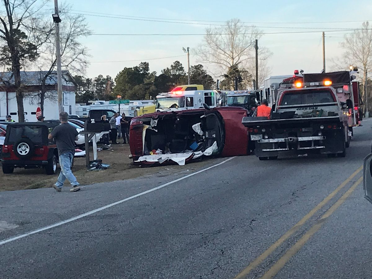 TRAFFIC ALERT: Crews respond to 'serious accident' on S.C. 544