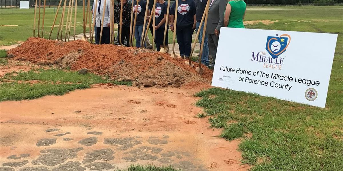 Ground breaks on Florence County's first Miracle League field