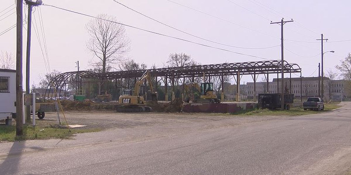 Construction underway on million dollar Florence farmers market, commercial kitchen
