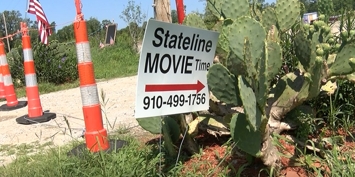 New Drive-In movie theater up and running