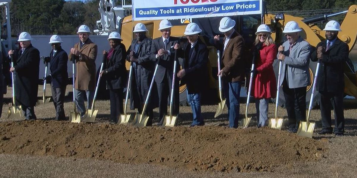 State, local officials celebrate multi-million-dollar Harbor Freight expansion in Dillon County
