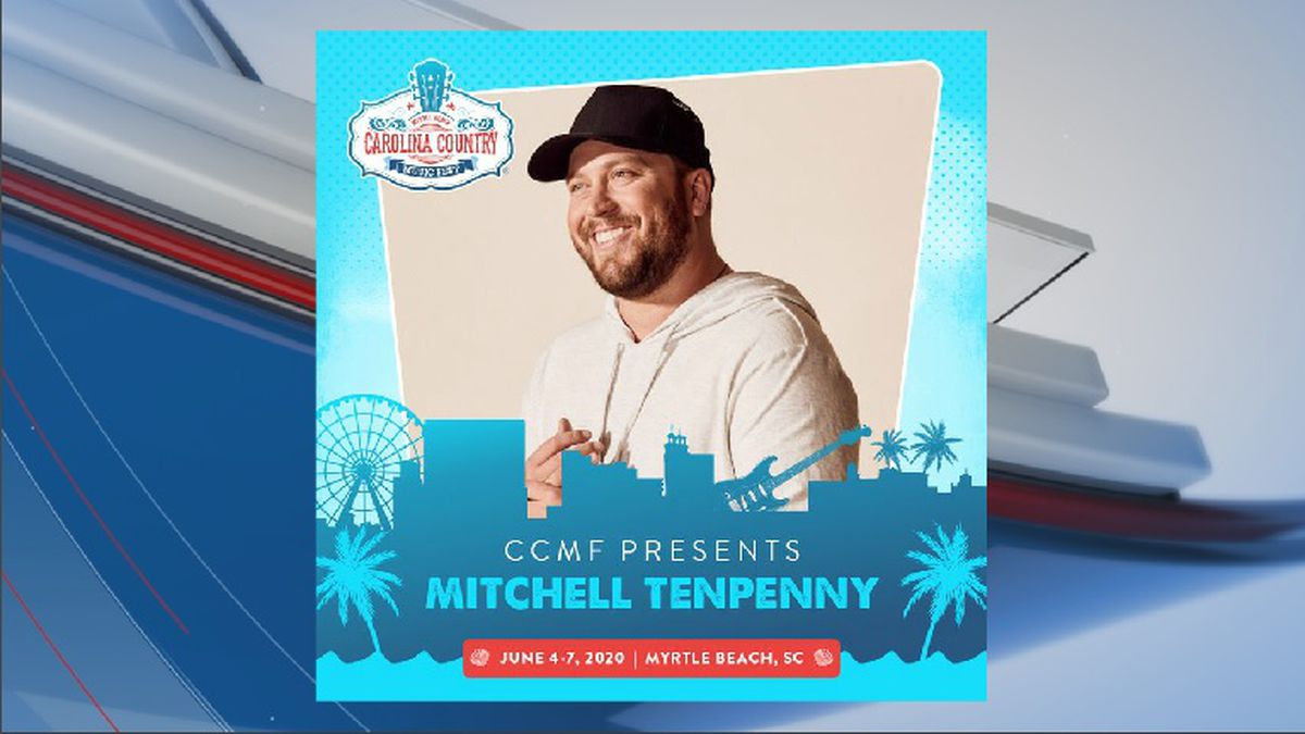 Mitchell Tenpenny added to 2020 CCMF lineup