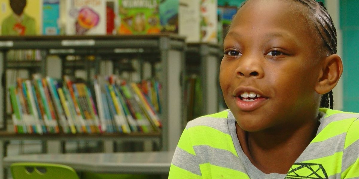 Student Spotlight: Socastee Elementary fourth grader wants to see 'everyone happy instead of sad'