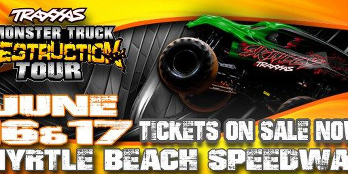 Myrtle Beach Sdway To Host The Traas Monster Truck Destruction Tour This Weekend