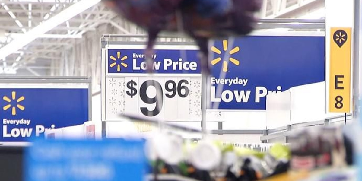 Walmart says they're seeing a new trend of shoppers buying tops, but not bottoms.