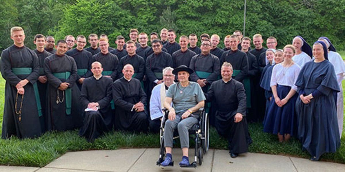 Shelby, N.C. priest with rare, brain-destroying disease offers words of encouragement to future leaders
