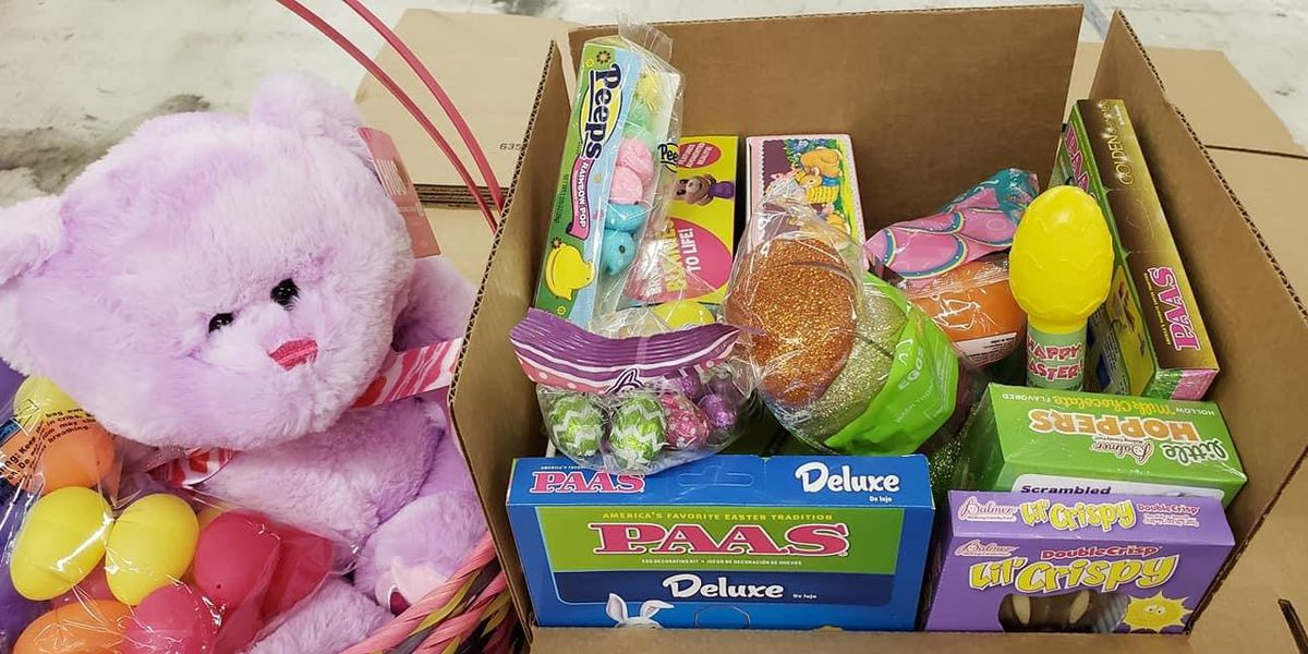 Murrells Inlet business owner hands out thousands of free Easter baskets to families