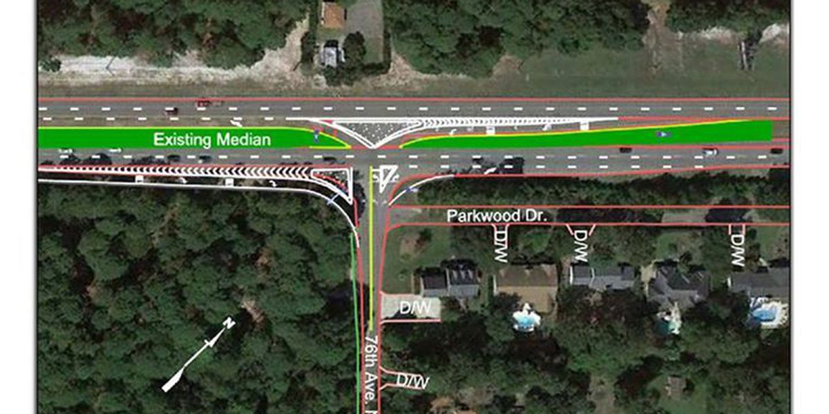 Public discussion on intersection improvement at US 17 and 76th Ave North in October