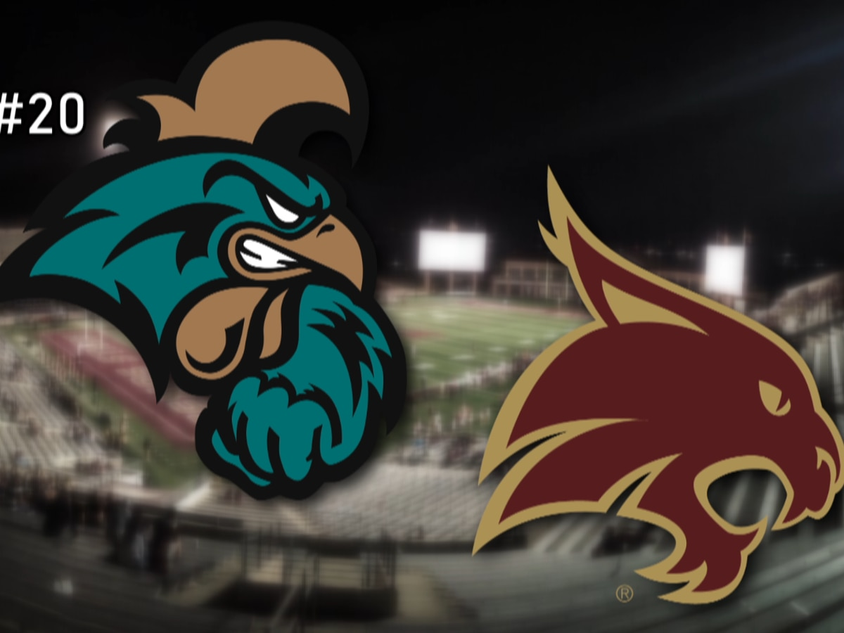 No. 20 CCU heads to Lone Star State for cross-divisional contest at Texas State