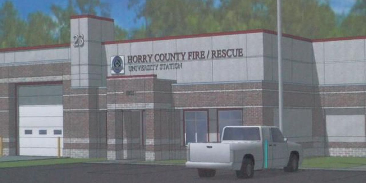 Leaders break ground on new university fire station