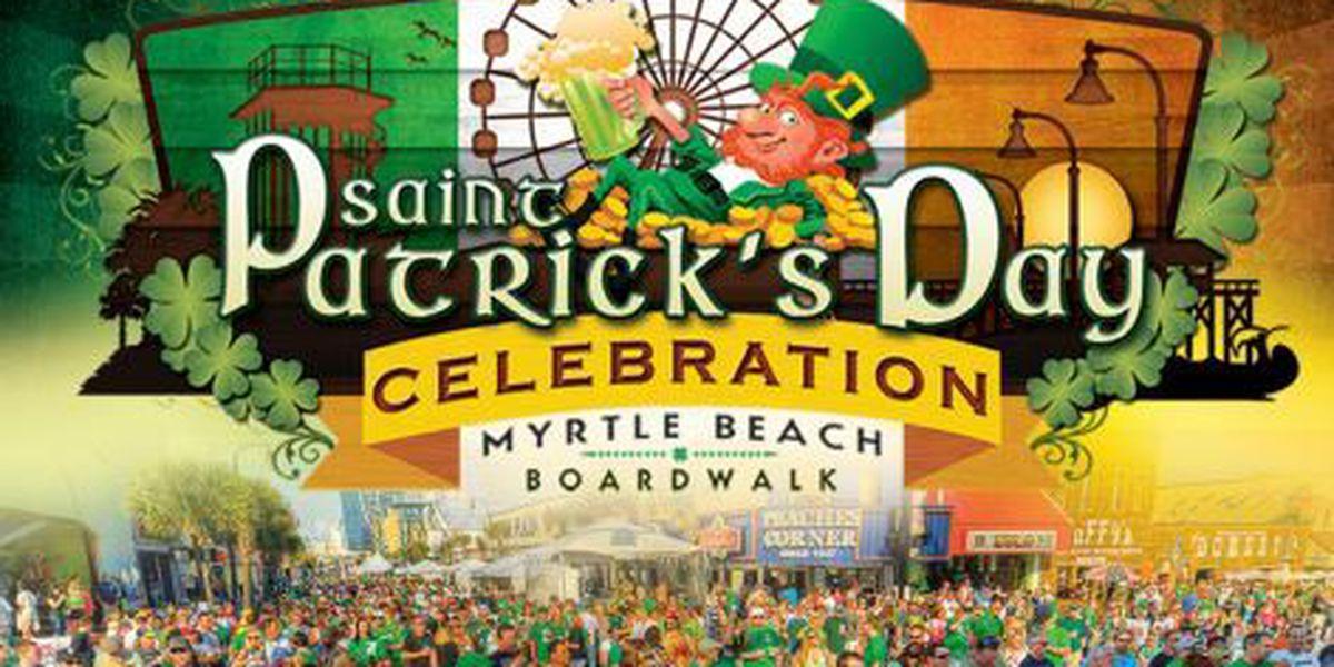 Myrtle Beach Boardwalk Saint Patrick's Day Celebration now two-day event