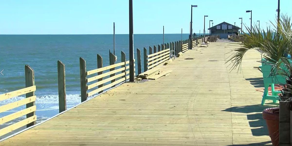 The Pier At Garden City Begins Pier Expansion