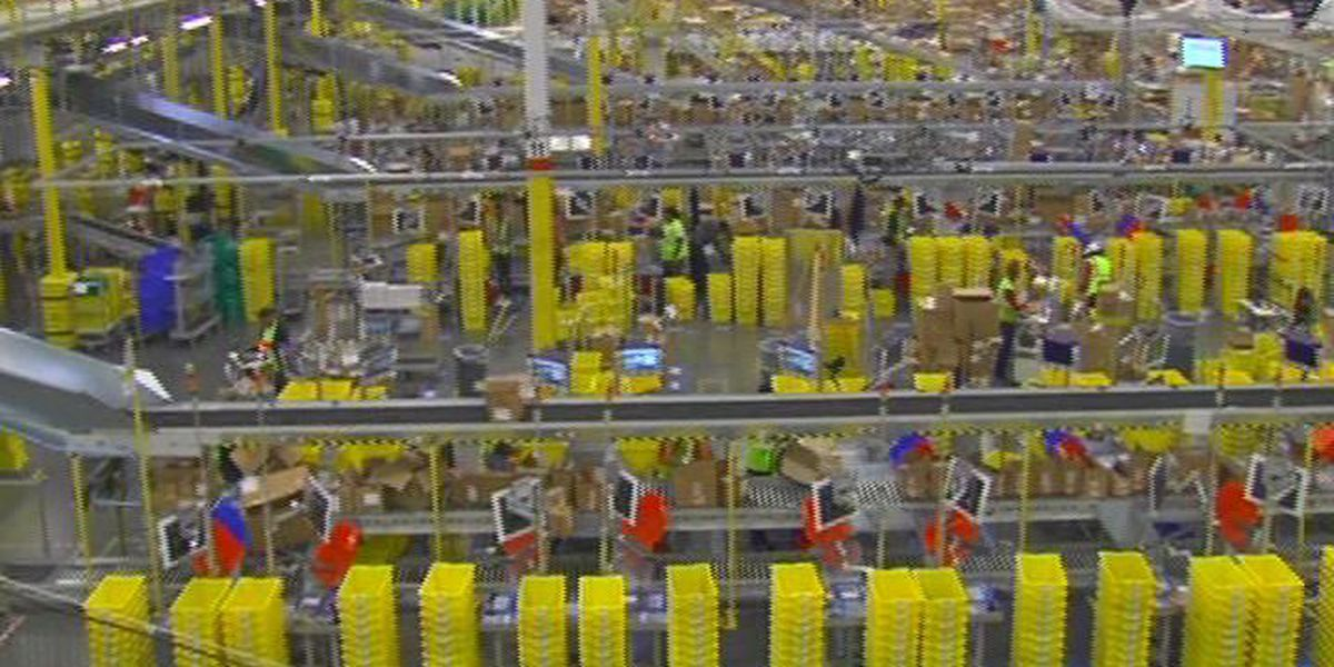 Amazon worker in W. Columbia diagnosed with COVID-19