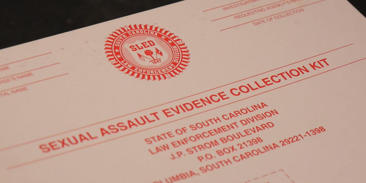 Hundreds of rape kits go untested in South Carolina