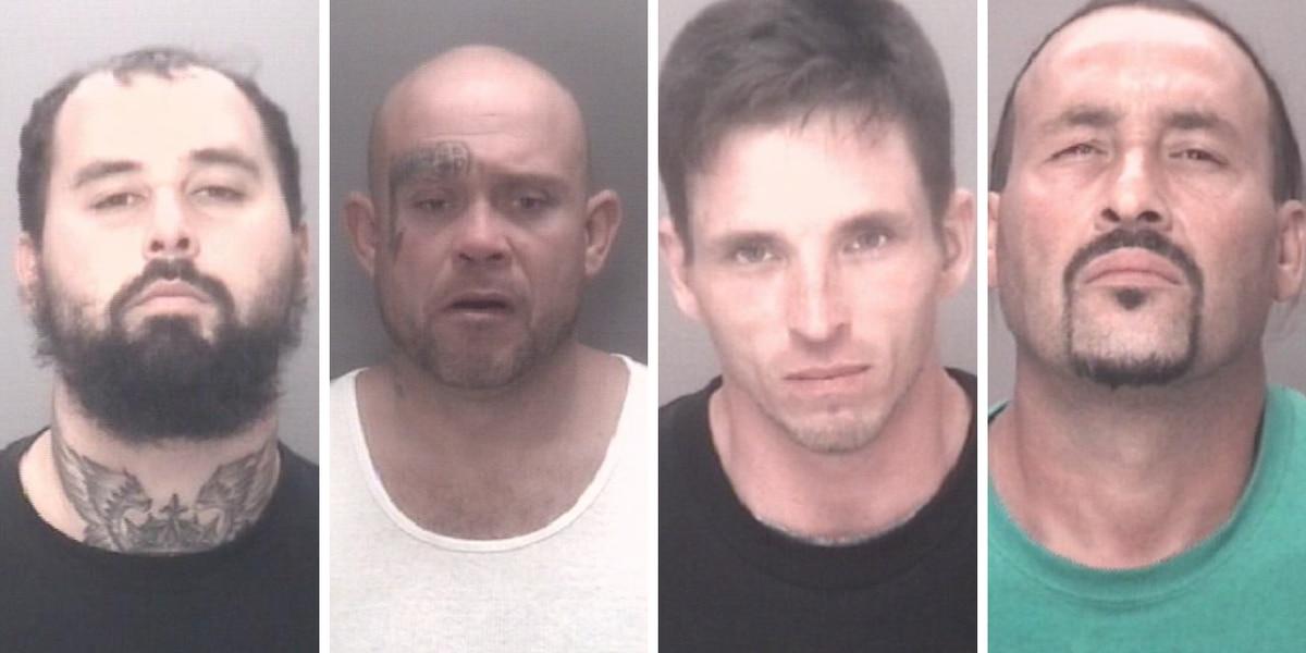 Deputies arrest 4 suspects in 2 separate drug busts