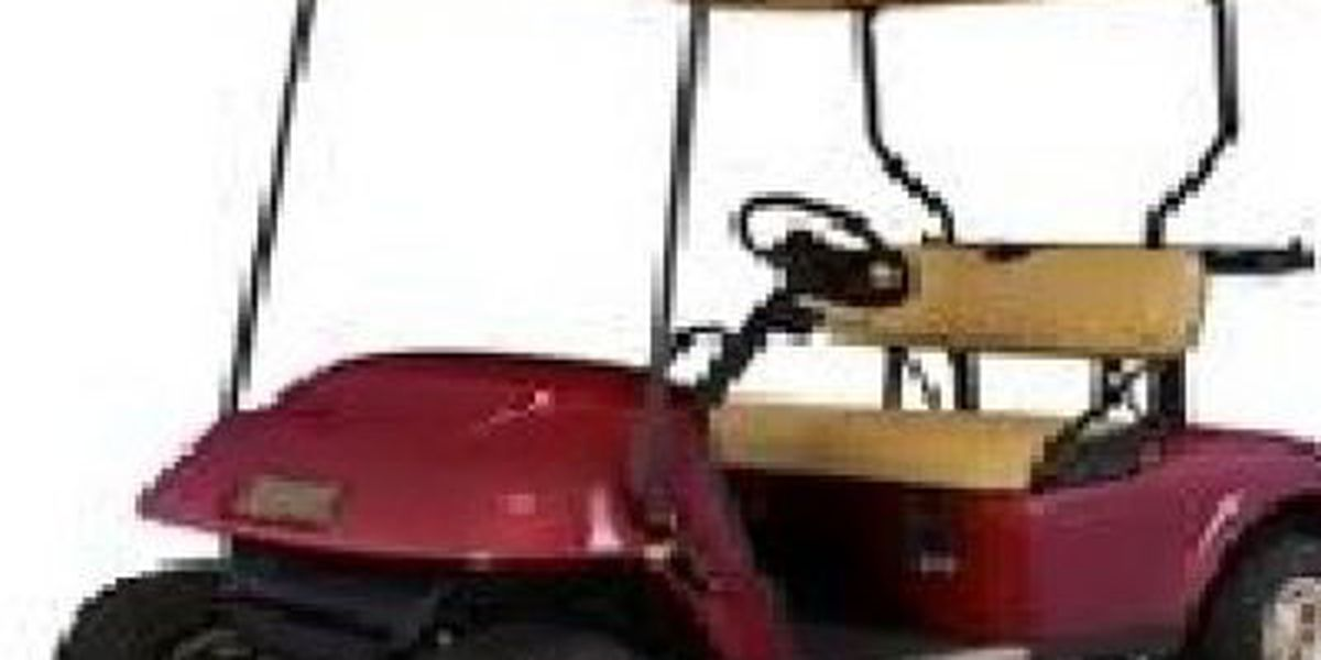 Myrtle Beach police need help finding missing golf cart