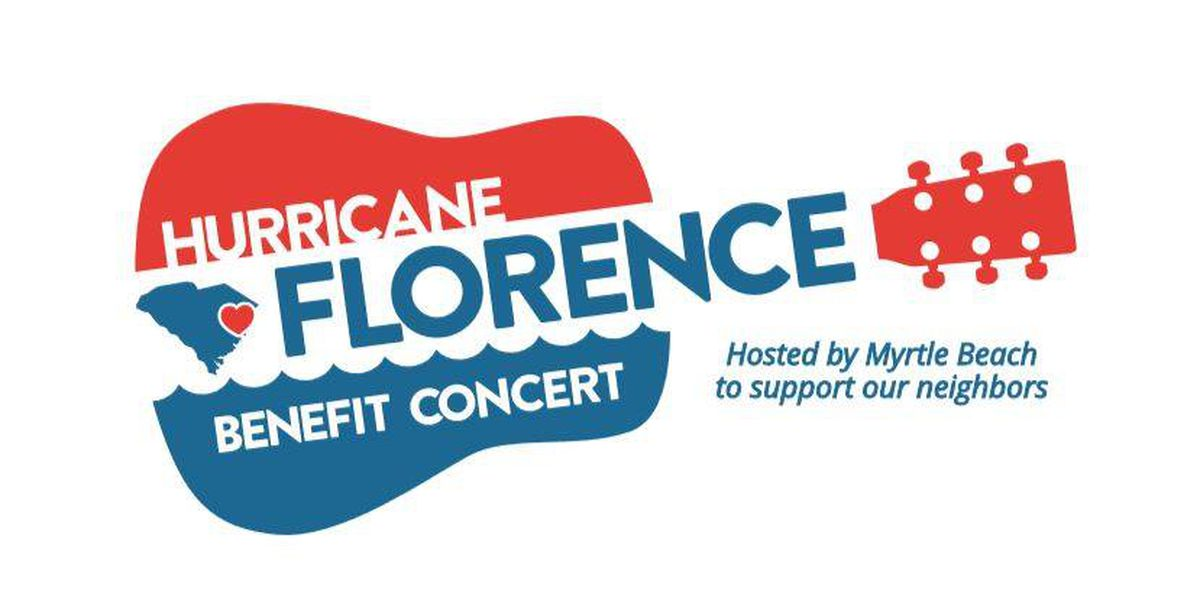 Tickets set to go on sale for Hurricane Florence Benefit Concert; artists expected to be announced soon