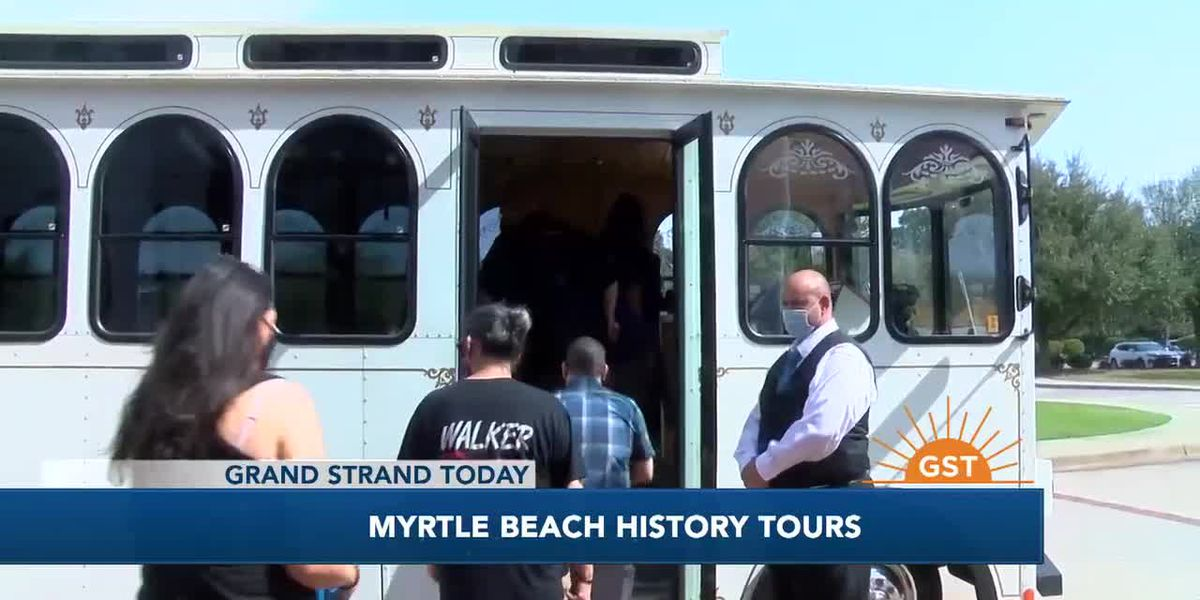 Trolley Tours about Myrtle Beach History