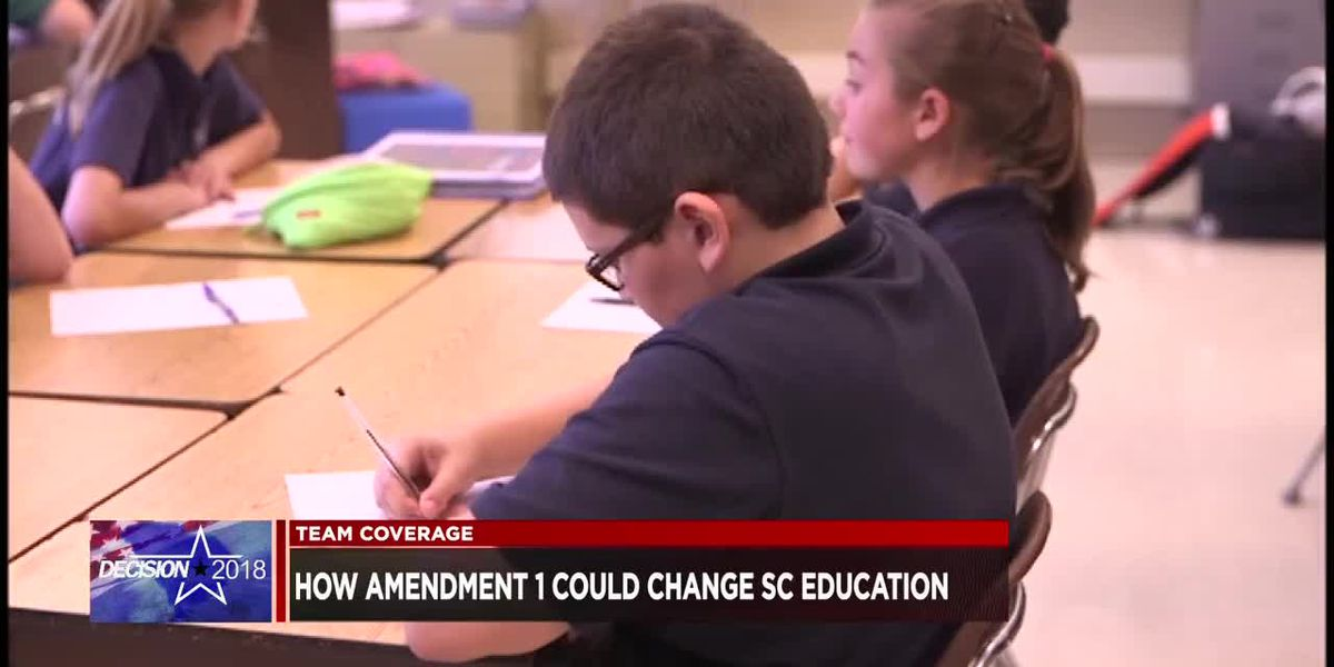 Amendment 1 could change how the SC state superintendent gets their job
