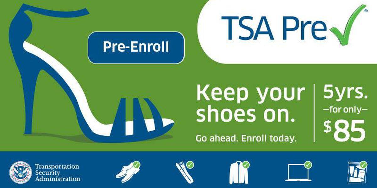 MYR offers TSA PreCheck expedited screening program