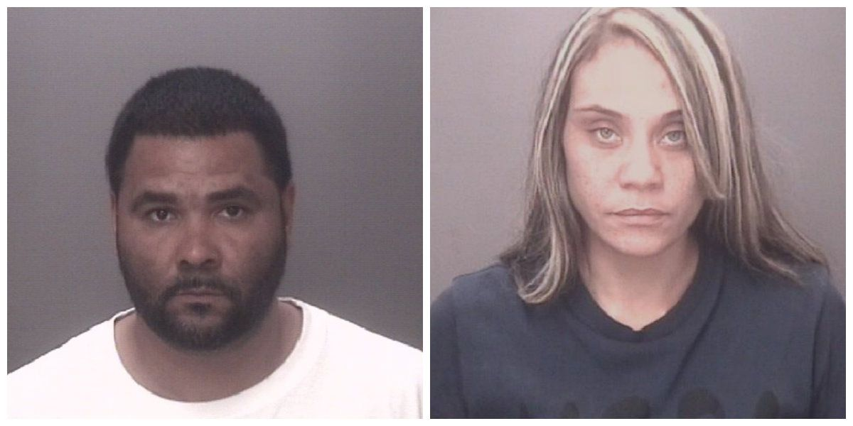 Cocaine seized following traffic stop; two arrested