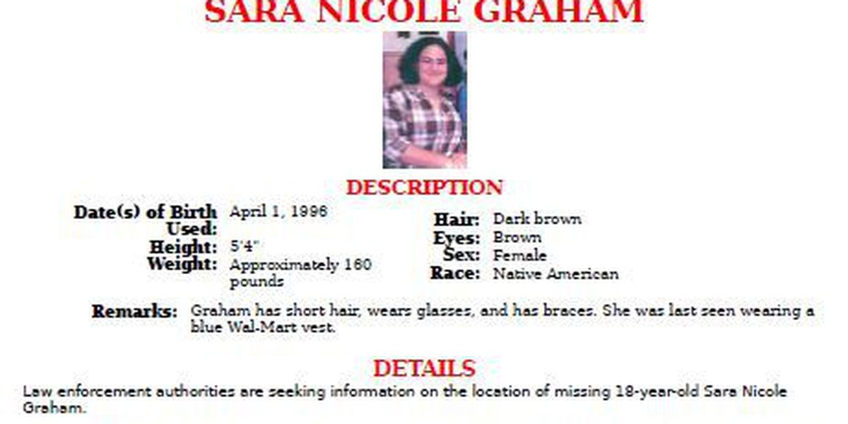 FBI joins search for missing Robeson County woman Sara Graham