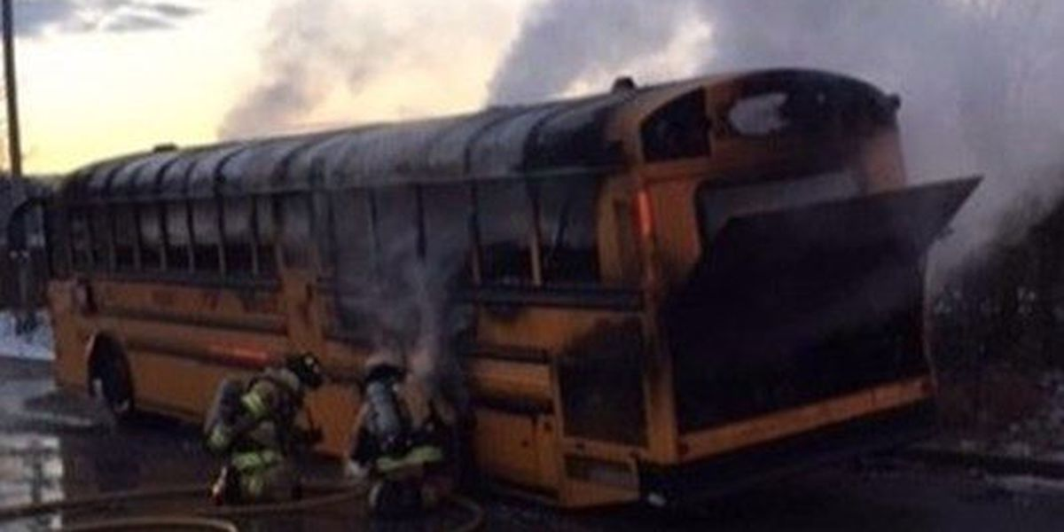 29 students escape schools bus fire in Tennessee