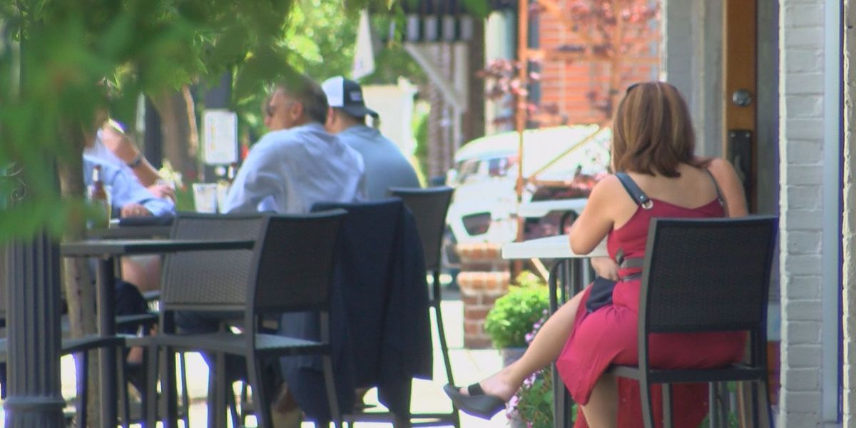 'We're just taking it one day at a time': Conway restaurants create outdoor dining areas