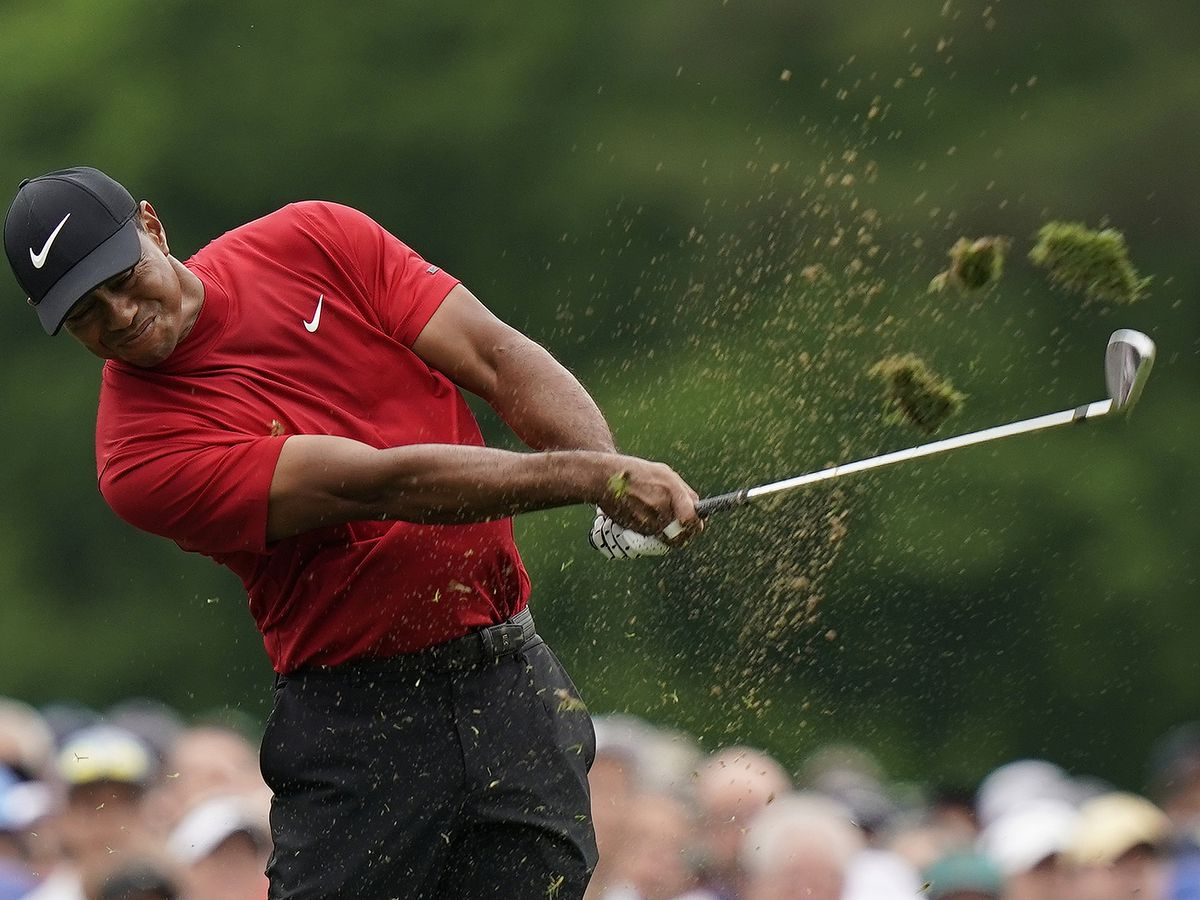 PGA, LPGA pros wearing red and black Sunday to honor Tiger Woods