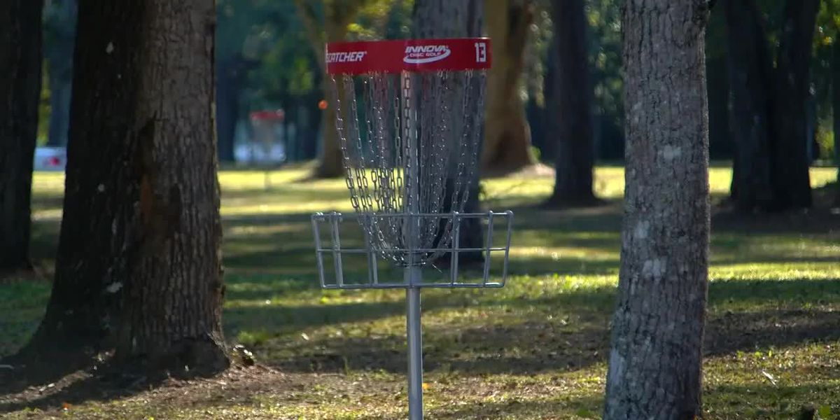 Disc golf course officially opens along the Grand Strand