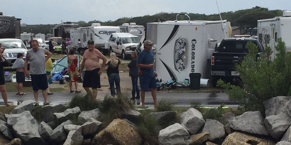 Strong winds overturn campers at Horry County area campgrounds