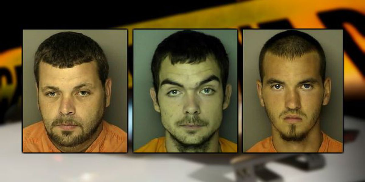 3 men land on Horry County Sheriff's Office Suspect Search