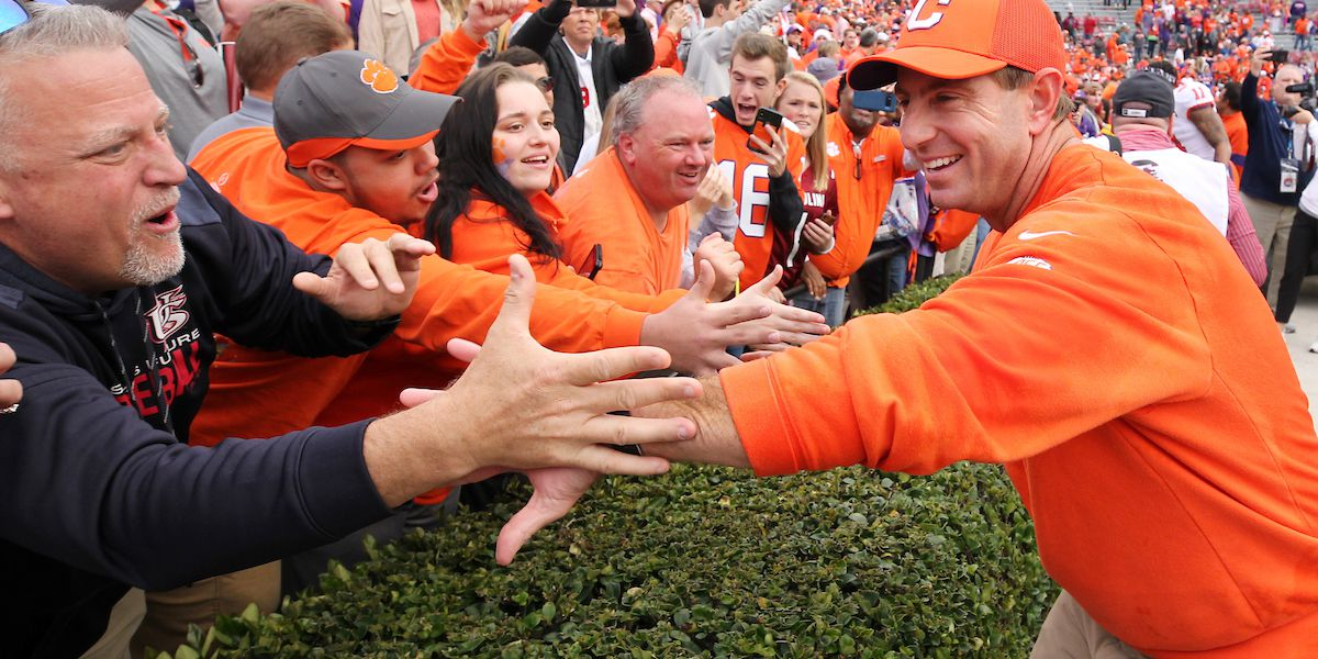 Clemson Athletics Receives State Approval on Reduced Capacity Plans For Athletic Facilities