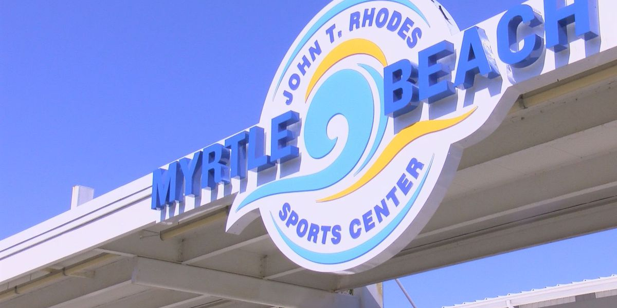 Myrtle Beach Sports Center now officially renamed for former mayor John Rhodes